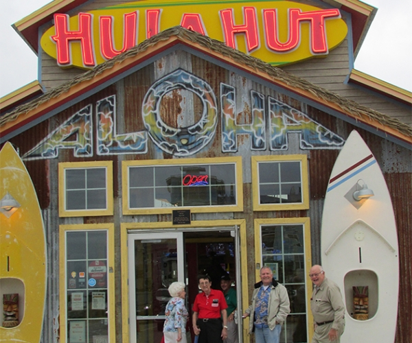 Hula Hut Visit & Garage Tour 5/18/19