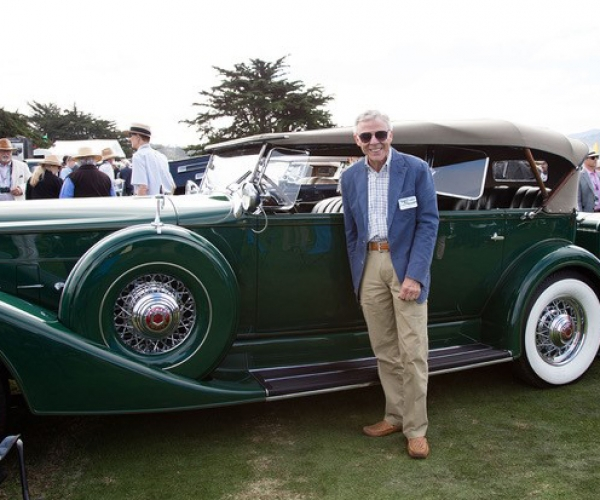 Pebble Beach Concours d'Elegance August 2019 Mike and Joy Ames 1934 Packard